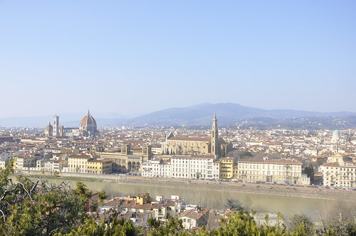 Up at Piazzale Michelangelo | by Travelgalart