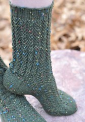 Beach Glass and Seaweed Socks | by Lynn Carson Harris