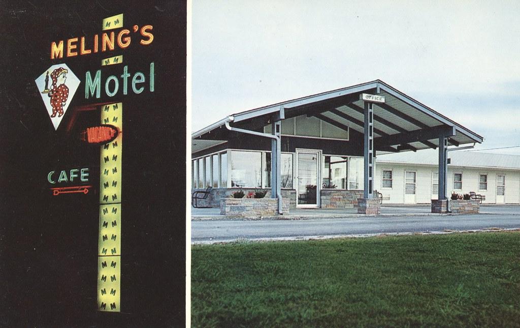 Meling's Motel - Monmouth, Illinois