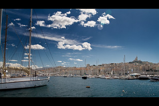Marseille harbour | by mcveja