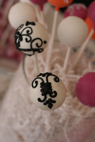 Cake Pops with French Design | by Sweet Lauren Cakes