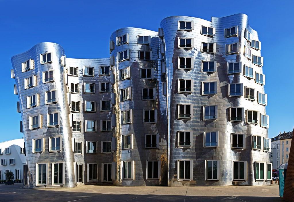 Gehry architecture d sseldorf ii neuer zollhof geb ude b flickr - Architekten in dusseldorf ...