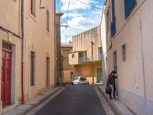 Pézenas: street