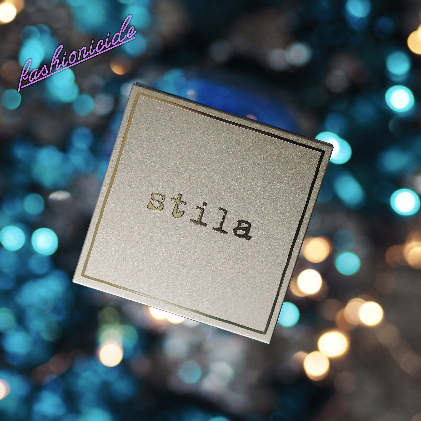 Stila Heavens Hue Highlighter Transcendence Review Dark Skin