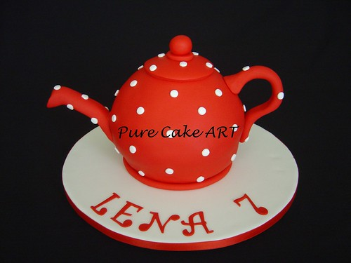 Teapot cake | by tania.fttk