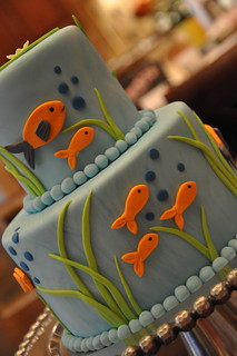 Fish Party Cake | by Designer Cakes By April