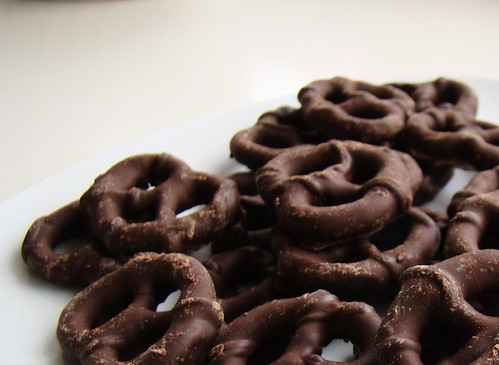 Chocolate Covered Pretzels | by Vegan Feast Catering