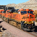 Westbound BNSF Crossing the Mojave River