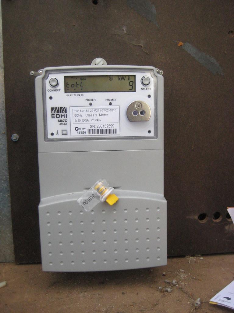 New Digital Electric Meter : New digital electric meter here is our