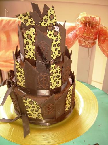 animal print wedding cake vancouver b c flickr. Black Bedroom Furniture Sets. Home Design Ideas