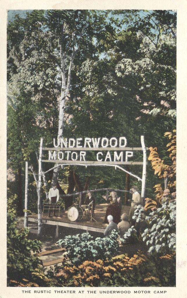 Underwood Motor Camp - Portland, Maine