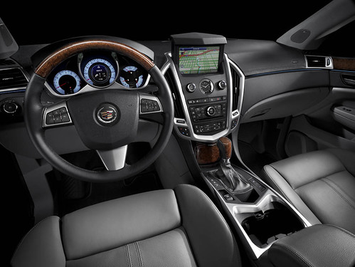 2010 Cadillac SRX - interior, Ebony leather | SRX with ...