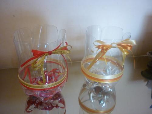 Adesivo De Parede Personalizado Sp ~ Artesanato garrafa pet  garrafas pet com decorações de fi u2026 Flickr