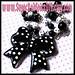 Lolita Bow CANDY Chain Handmade Beaded Charm Necklace