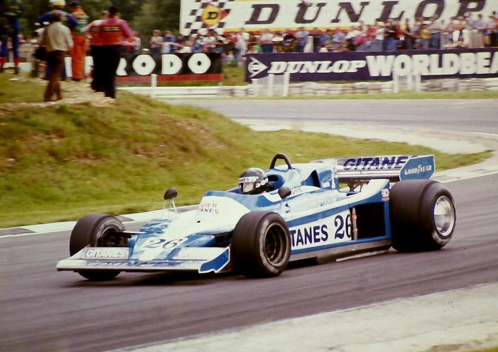 Jacques Laffite Ligier Gitanes Ligier Js9 Exits Drui