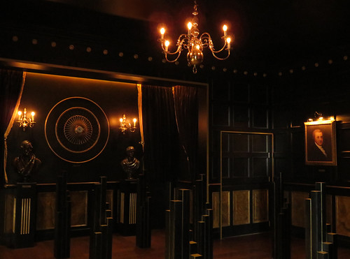 The 'Black Velvet Room' where one can taste the fine nuances of a Guinness beer at the Guinness Storehouse in Dublin