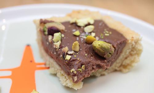 Chocolate Ganache Tart - dairy free