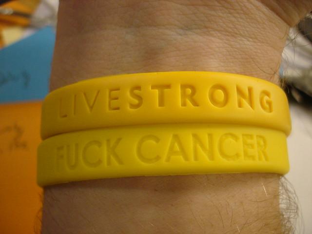 Bracelet breast cancer live strong