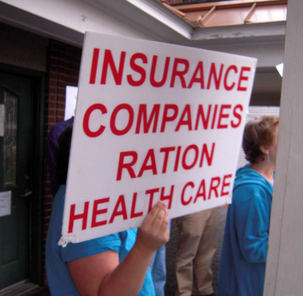 Insurance Companies Ration Health Care