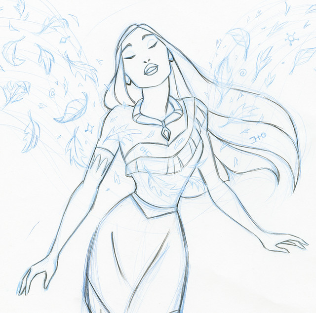 Pocahontas Sample Pencil I Have Been Working On Some New