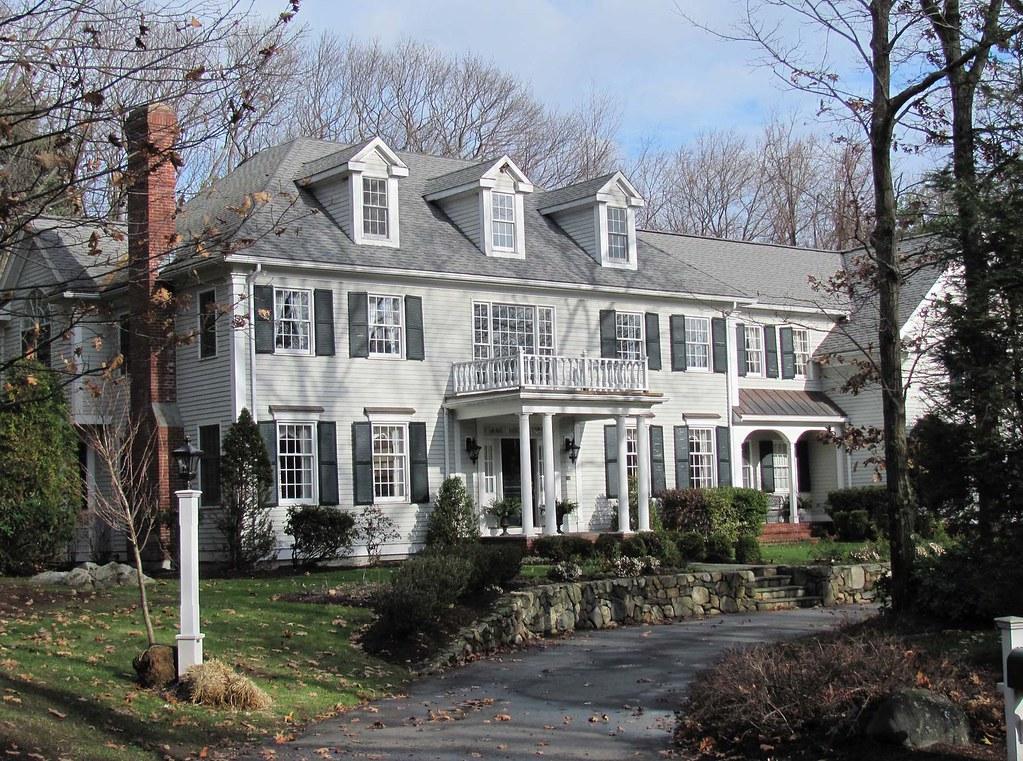 New England Mansion Karl Agre Flickr
