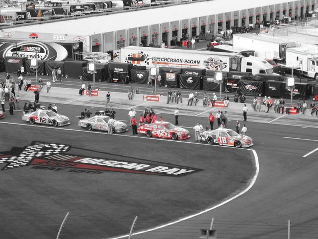 2009 Coca Cola 600 Lowe 39 S Motor Speedway Qualifying Ni