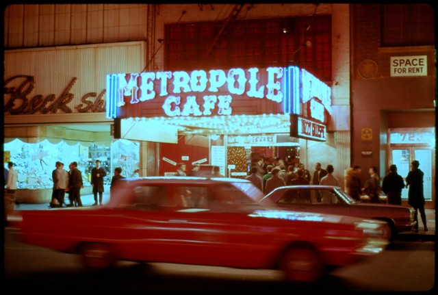6c8bf51be414 Metropole Cafe, NYC 1966   Scanned from a hand-mounted 35mm …   Flickr