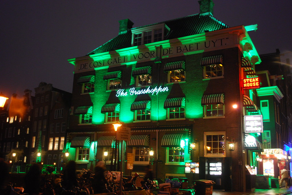 amsterdam the green house let me just call this the