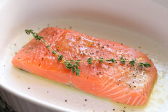 Salmon, getting ready to roast | by Sarah :: Sarah's Cucina Bella