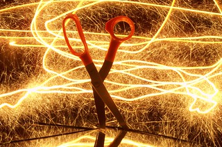 Painting scissors with light 3 | by sociotard