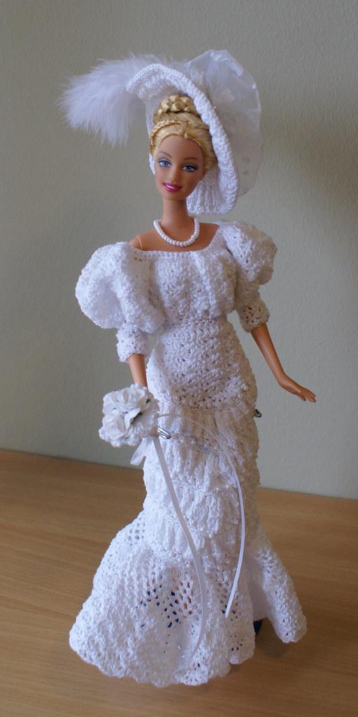 Imgenes De Free Barbie Crochet Wedding Dress Patterns