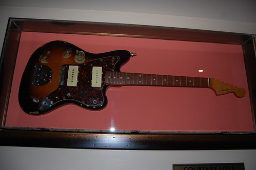 Courtney Love (Hole) Jazzmaster Fender Guitar - Hard Rock Cafe NYC | by Rusty Sheriff