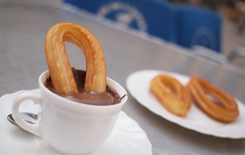 Churros con Chocolate | by Swamibu