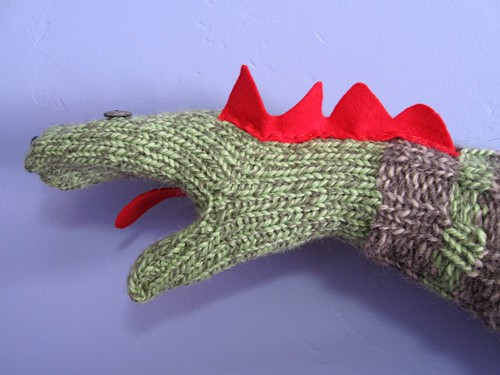Sock puppet mitten | by telaine