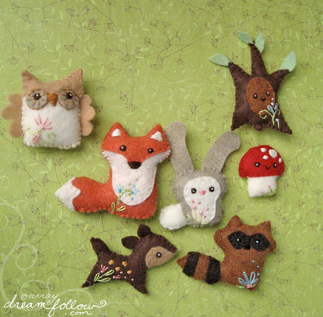 Woodland Animals More On The Blog Aimee Ray Flickr