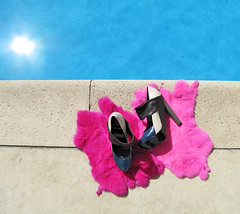 pierre hardy shoes by the pool | by ...love Maegan