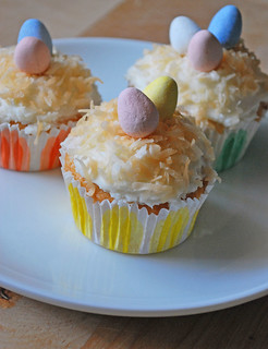 Easter coconut cupcakes | by fakeginger