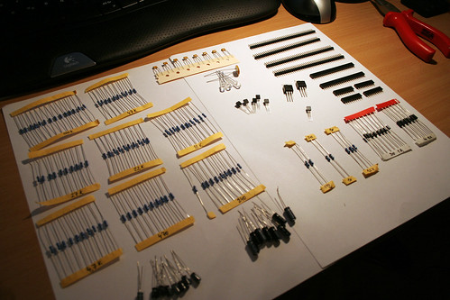 Electronic components! | by Pavel Richter