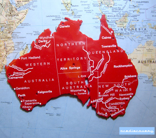 Map stencil of australia used in classrooms to help draw m flickr acediscovery map stencil of australia by adrian acediscovery gumiabroncs Images