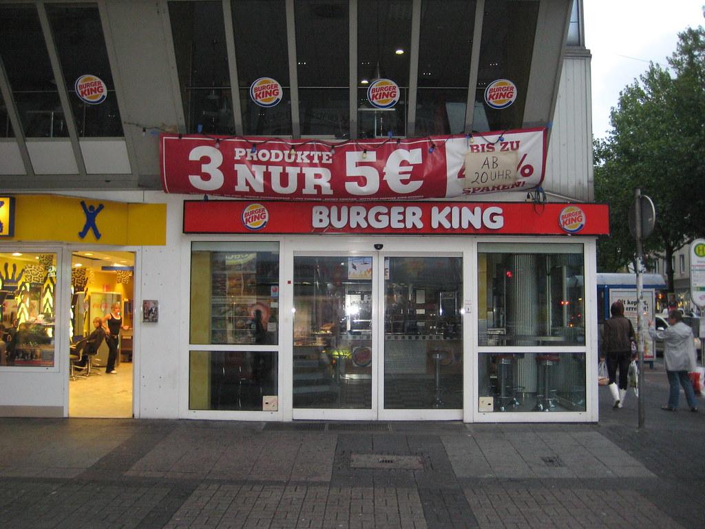 . Geschlossene BurgerKing Filiale in Bochum  Kortumstr     Flickr