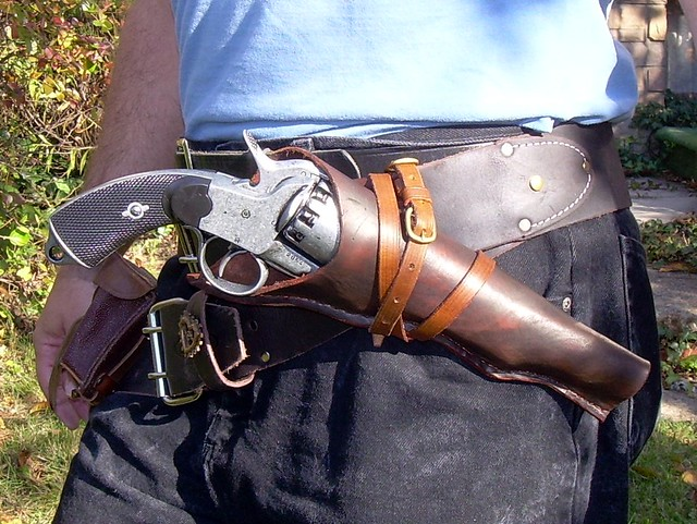 Lemat Holster I Have A Lemat Replica But Needed A
