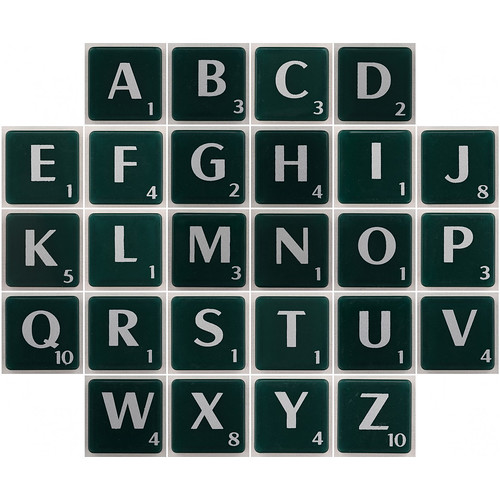 Letter Scrabble Words With X