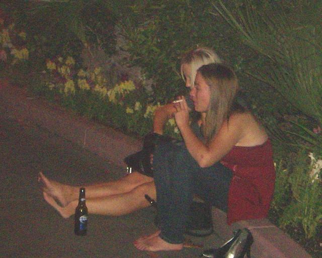 Drunk german girls naked