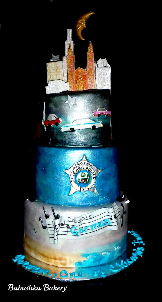 Chicago Police Sergeant Birthday Cake Its always a specia Flickr