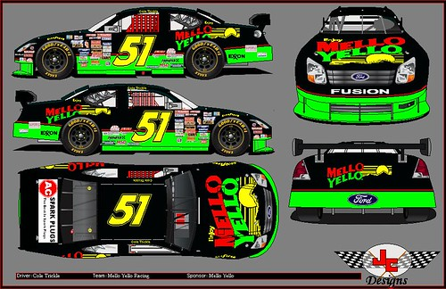 51 Mello Yello Ford The 1990 Days Of Thunder Cole
