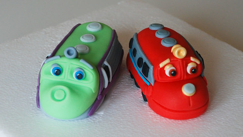 Chuggington Birthday Cake Toppers