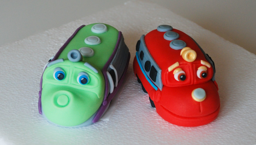 chuggington cake topper visit me and LIKE my facebook page Flickr