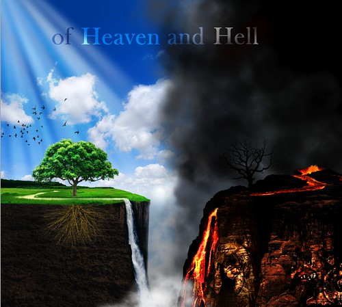 Image result for heaven and hell