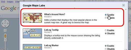 Enabling What's Around Here in Google Maps Labs | by Si1very