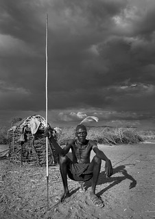 Pokot chief of the village - Kenya | by Eric Lafforgue